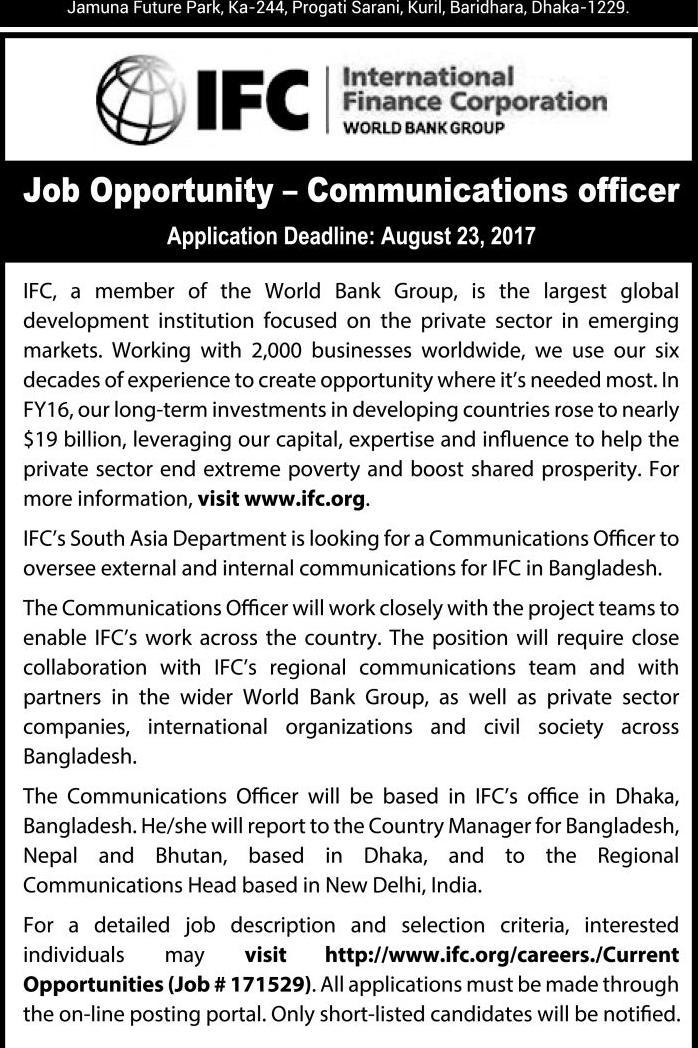 Communications Officer Bd Jobers